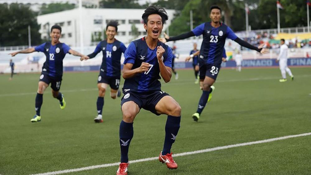 U20 Campuchia bổ sung cầu thủ dự SEA Games, quyết thắng U20 Việt Nam